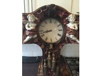 ABSOLUTELY Beautiful - Quirky and very unique CHERUB clock will look stunning in the right place
