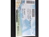 1 x blue dot weekend festival ticket