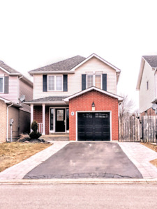 Bright 3 bedroom home in Courtice available May 1