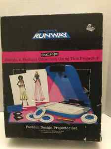 Project Runway Fashion Design Projector Kit - For ages 8 - 100 Regina Regina Area image 2