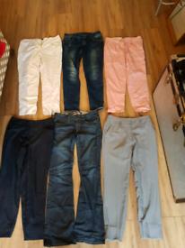 Bundle Lady's Wear:Trousers, & Jeans