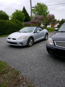 Éclipse Gtp convertible 2007