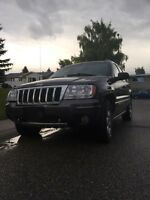 04 Jeep Grand Cherokee limited overland edition.