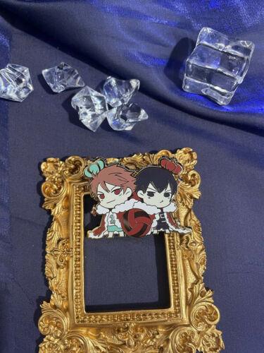 Haikyuu!! Volleyball Kageyama Tobio Oikawa Tooru Metal Badge Brooch Pin Cosplay