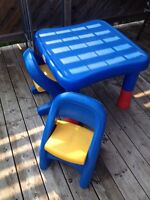 Little Tikes Kids Table & 2 Chairs