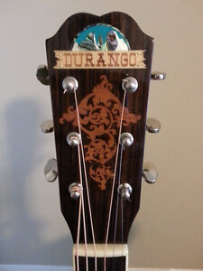 Saga Solid Top Acoustic Guitar with Hard Shell Case London Ontario image 7