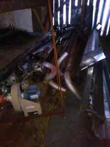 Overhead radiant tube heater system