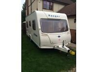 2006 Bailey ranger 460/4 touring caravan with porch awning-part ex considered!