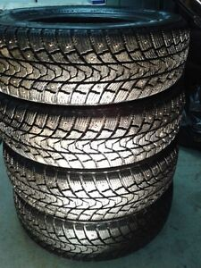 For Sale: 4 Studded Winter Tires (14 inch / 175 70R)
