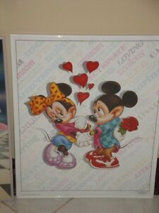 MICKEY MOUSE PICTURES - GLASS WITH METAL FRAME (LIKE NEW) London Ontario image 5