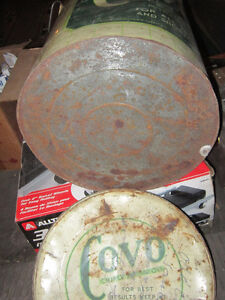 Cool old Tin Covo Vegetable Oil Can. Clean, original Condition. Oakville / Halton Region Toronto (GTA) image 7