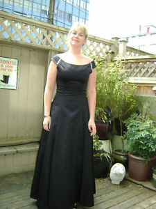 Black Evening or Grad Dress-full length