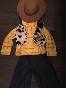 Disney store woody costume
