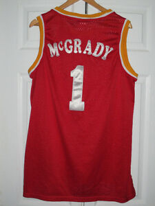 Houston - Tracey McGrady Jersey - Red - XL   Authentic