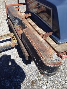 1973-87 GMC Chevy truck OEM rear step bumper