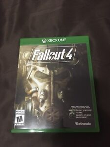 Fallout 4 for Xbox one (includes fallout 3 code)