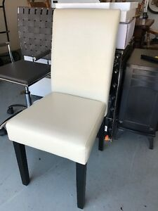 Off White Parsons Chair For Sale