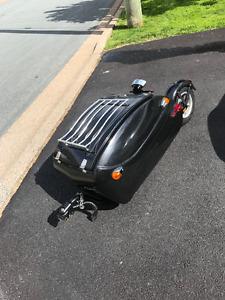 Cyclope 2 Motorcycle One Wheel Cargo Trailer