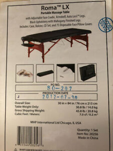 Excellent MASTER Massage Table