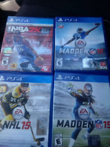 PS4 Games-Sports