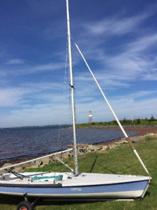 Laser 2 Sailboat - Includes All Sails, Trapeze & Trailer