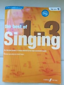 ABRSM The Best Of Singing 1-3 High Voice