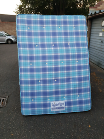 """In good condition, double 4ft 6"""" mattress, delivery available"""