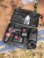 Coleman Power Drill 18W Includes 2 Batteries