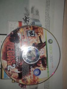 Rainbow 6 Vegas 2 xbox live game for sale