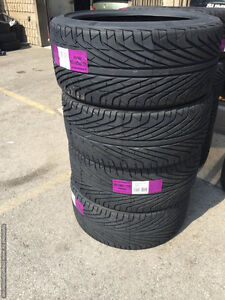 Four New 305 / 35 R24 Triangle TR968 Performance Tires