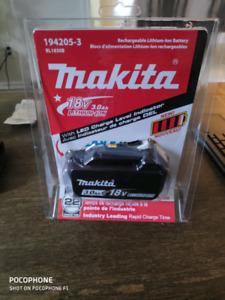 Makita 18v 3.0 Ah lithium-ion Battery NIB