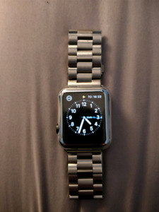 42cm Apple Watch 1 with Stainless Steel band and casing