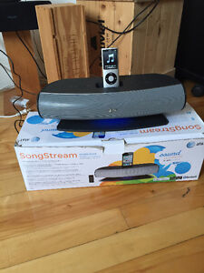 Songstream Bluetooth station pour Iphone et Ipod