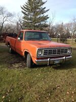 1972 Dodge Other Pickups Pickup Truck