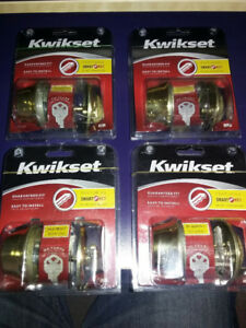 Lock hardware, Weiser / Kwikset deadbolt, locks