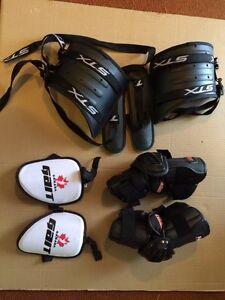 Lacrosse gear peewee/bantam/midget age