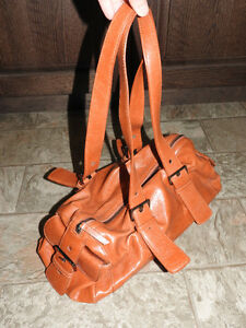 Burnt orange purse / handbag