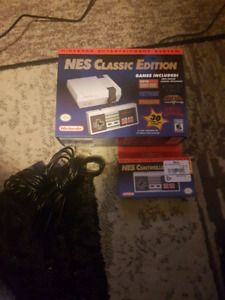 Official NES classic Edition.. Nintendo, updated over 100 games!