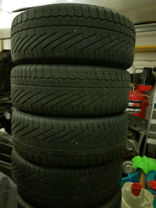 205 55 16 continental extreme contact snow tires
