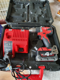 Milwaukee m18 CPD Fuel Brushless Drill