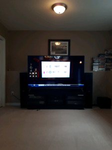 """Man Cave Complete Package 75"""" tv and massage chair plus more"""