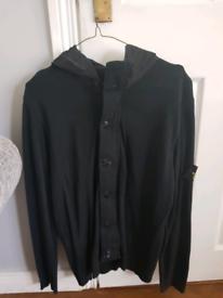 Stone Island jacket/cardigan black xl