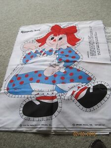 Raggedy Ann & Andy, Holly Hobbie screen prints to craft Windsor Region Ontario image 1