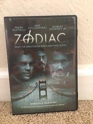 Zodiac Dvd Movie Film Jake Gyllenhaal Mark Ruffalo Robert Downey Jr