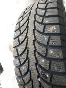 Studded winter tires!