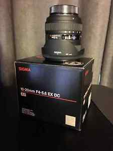 Sigma DX 10-20mm wide angle zoom