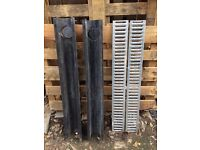 2 x Driveway drainage channels. Used-good condition. Going cheap!