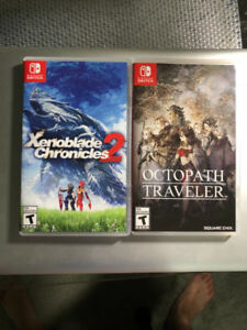 Xenoblade Chronicles 2 & Octopath Traveler