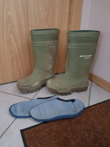 Dunlop Cold Weather Industrial Rubber Boots