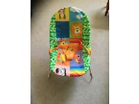 Chad Valley Rainbow Baby bouncer